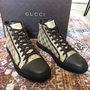 Gucci High Top Originals - New Sand / Cocoa